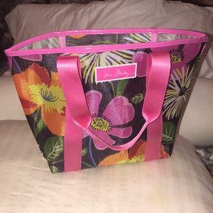 Vera Bradley Mesh Pink Tropical Tote